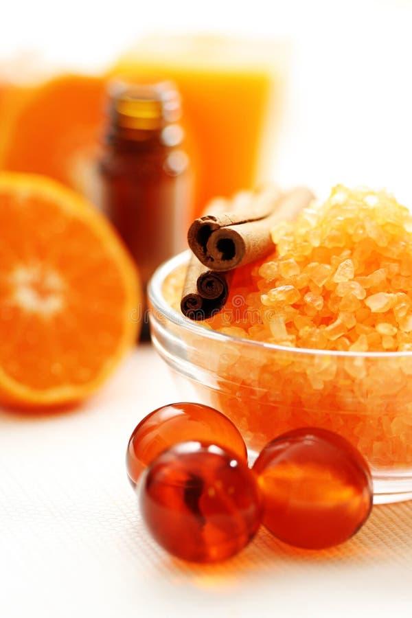 kąpielowy tangerine zdjęcia stock