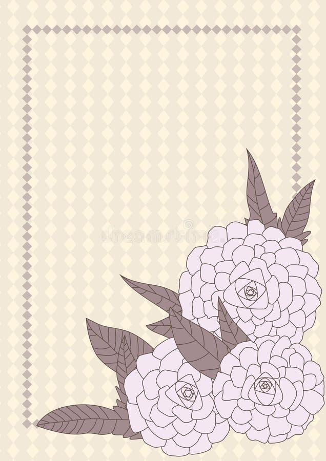 kąt rysująca eps kwiatów przestrzeń ilustracji