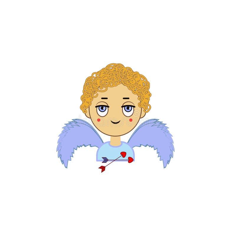 Kąt, serce, dziecko, valentine's dnia ikona Element kolor walentynka, s dzień « Premii ilości graficznego projekta ikona znaki  ilustracji