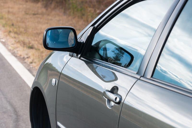 Kąt strzelający samochód obraz royalty free