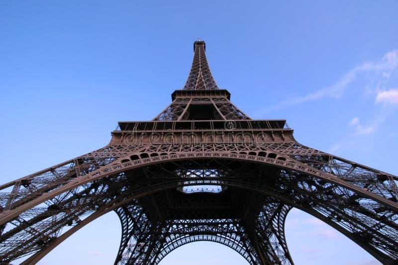 kąt wieża eiffla szeroka obrazy royalty free