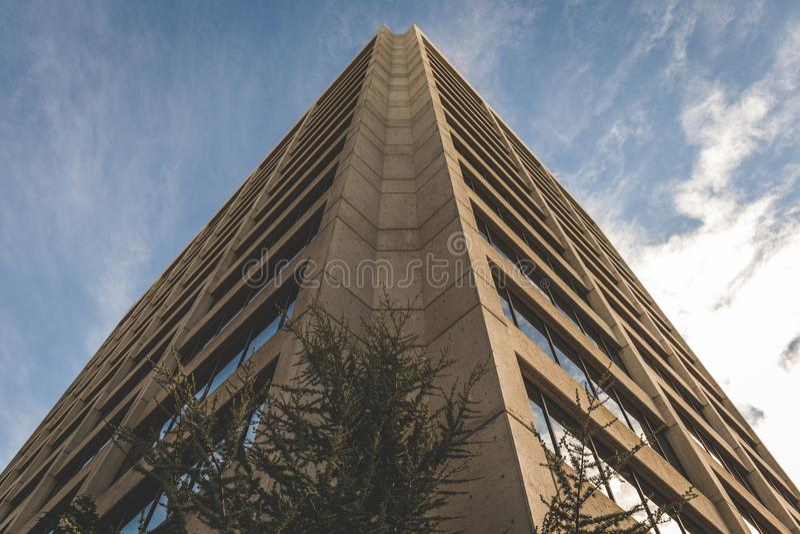 Kąt Wysoki miasto budynek zdjęcie royalty free