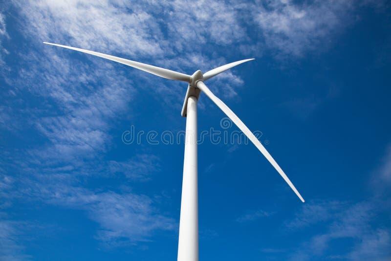 kąta niski turbinowy widok wiatr zdjęcie royalty free