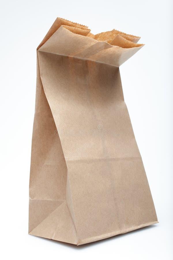 kąta torby widok papieru widok fotografia stock