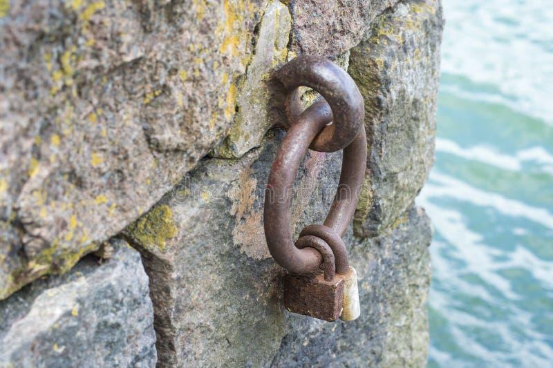 Kędziorek na żelaznym pierścionku zdjęcie stock