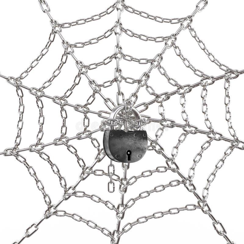kędziorek sieć ilustracji
