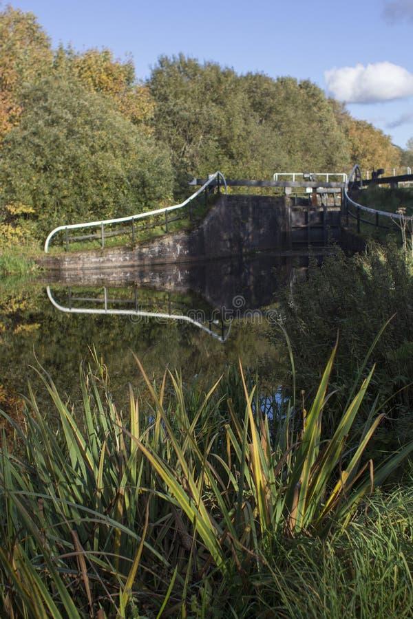 Kędziorka most na i Clyde kanale Naprzód zdjęcie royalty free