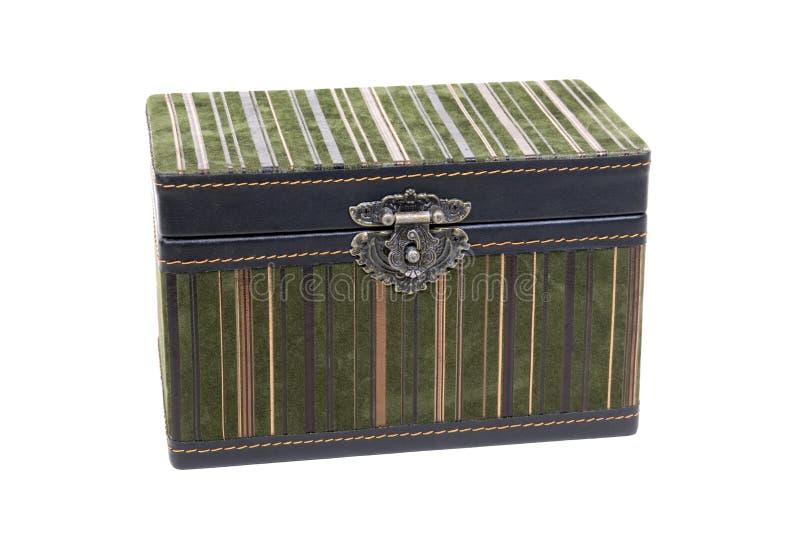 kędziorka pudełkowaty galanteryjny aksamit zdjęcie stock