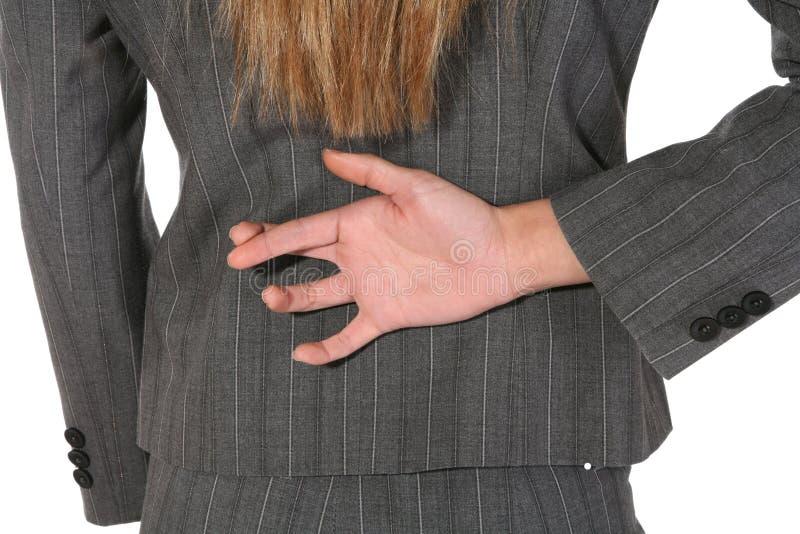kłamliwa biznesowej kobieta zdjęcia stock