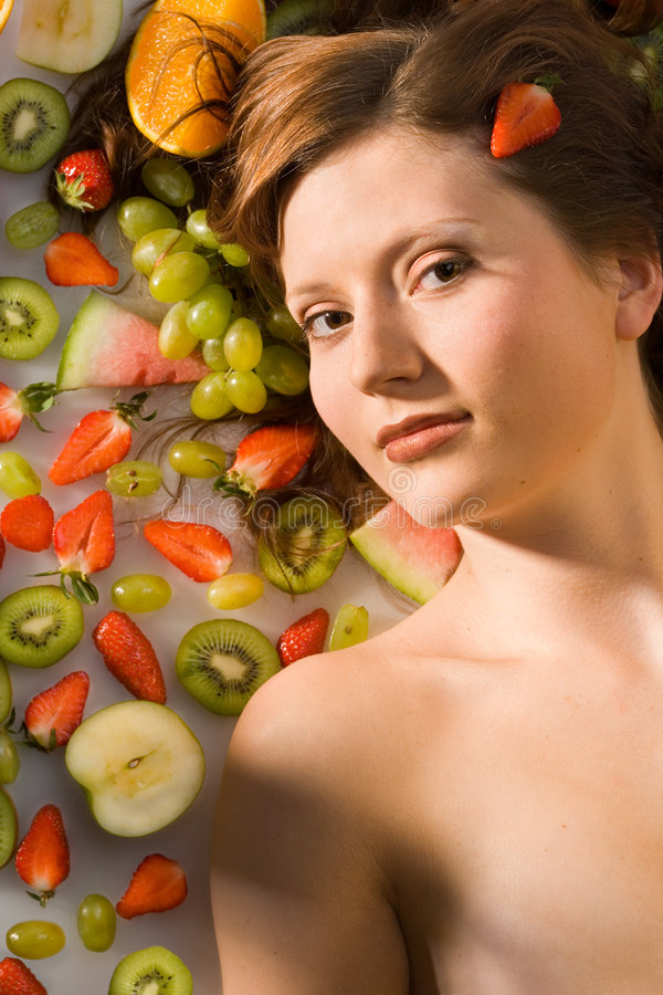 kłamstwo owoców obrazy stock