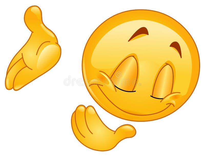 Kłonienia puszka emoticon ilustracja wektor