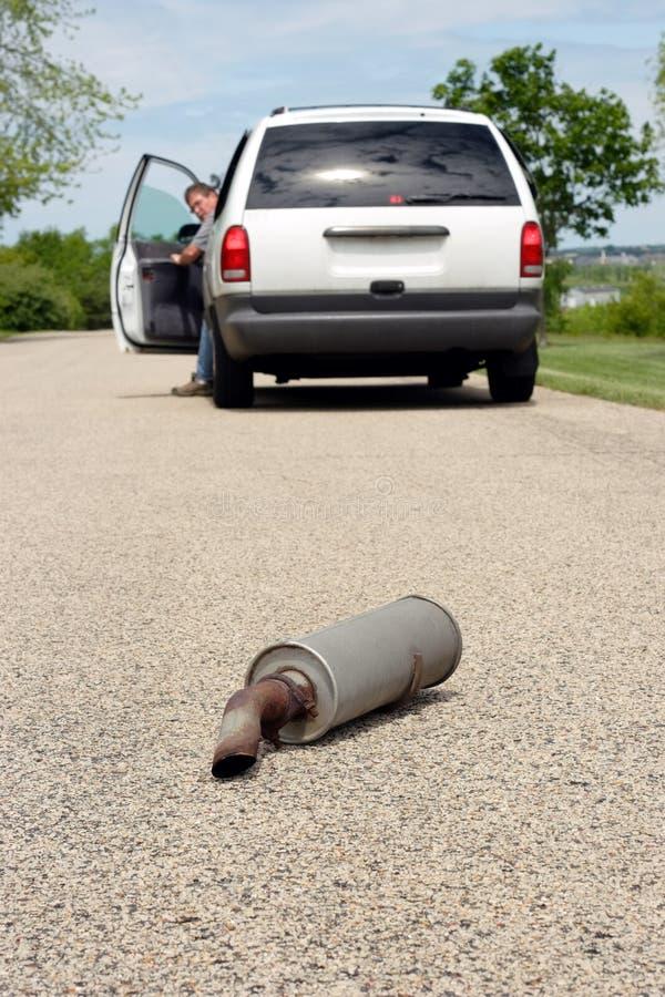 kłopoty z samochodem 2 serii zdjęcie stock