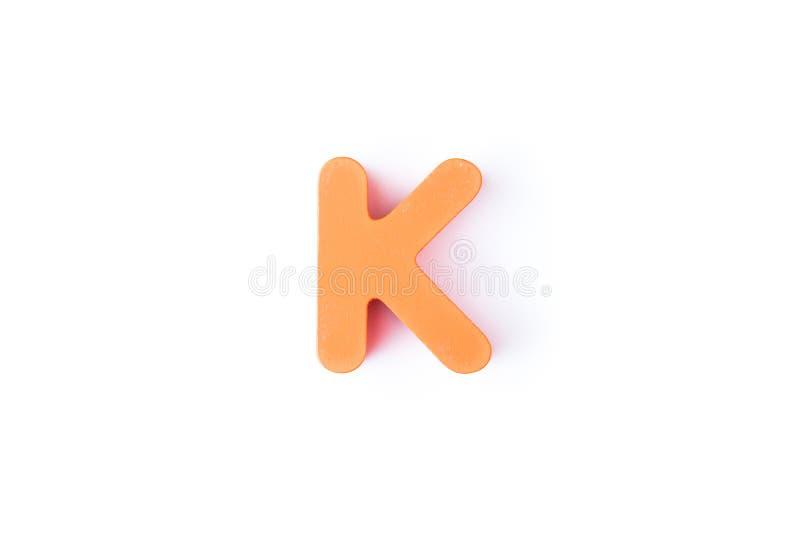 K信件用英语 免版税库存图片