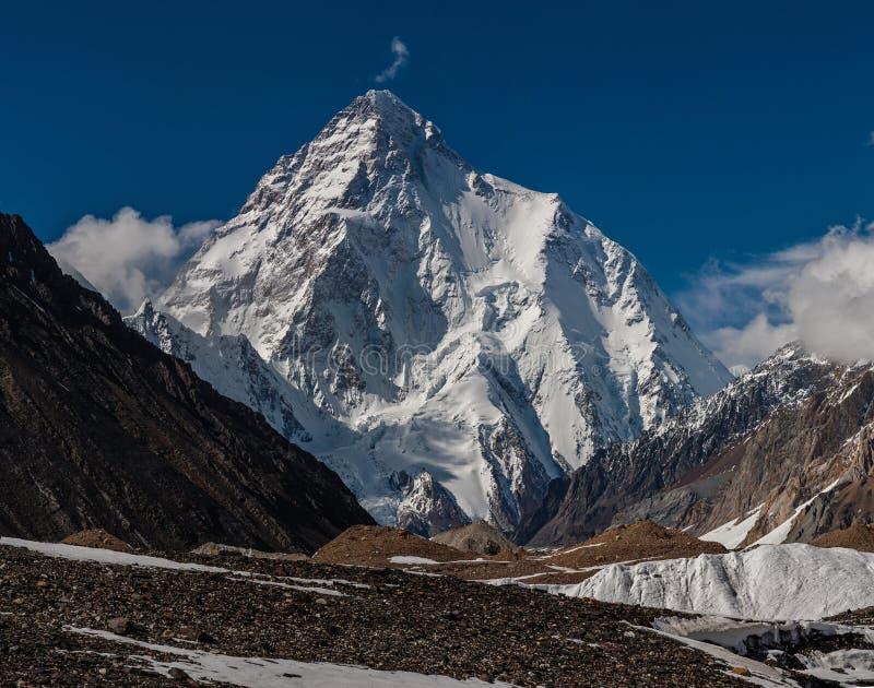 K2 royaltyfri fotografi