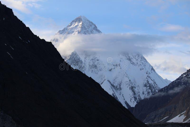 K2 royaltyfria bilder