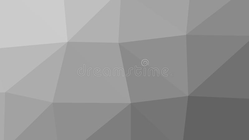 8K Abstract Triangle Polygon Grey Background vector illustration