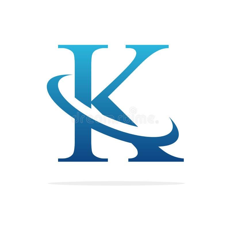 K creative logo design vector art royalty free stock image