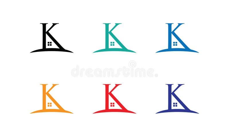 K-huslogo arkivbild