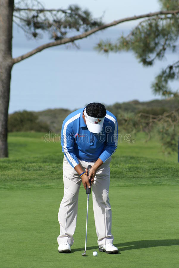 Download K. J. Choi Golfer 2011 Farmers Insurance Open Editorial Stock Image - Image: 18031859