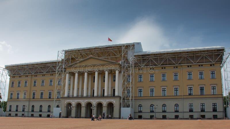 K?niglicher Palast in Oslo stockfoto