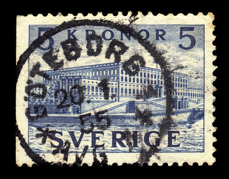 K?niglicher Palast in Stockholm stockfoto
