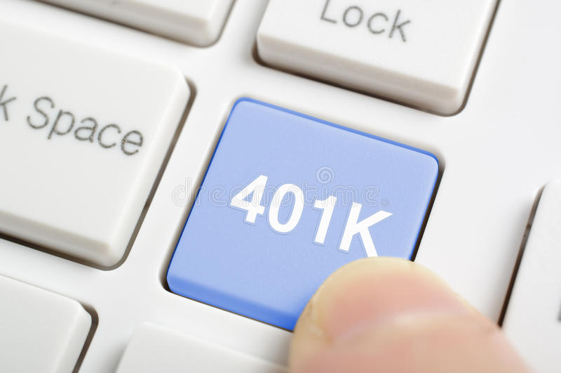 401K stock photography