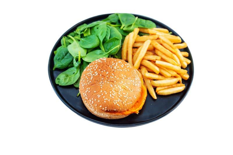 K?seburger - Burger des amerikanischen K?ses lizenzfreies stockfoto