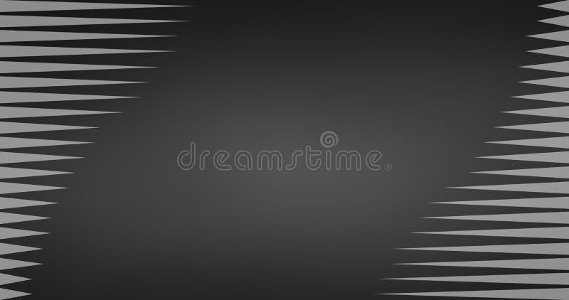 4K trójboka Czarny I Biały geometrycznego deseniowego abstrakcjonistycznego tła lampasa wektorowa linia, Wektorowa ilustracja ilustracja wektor