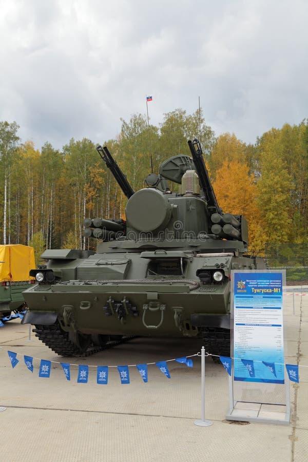Download 9K22 Tunguska foto editorial. Imagen de equipo, misil - 41910346