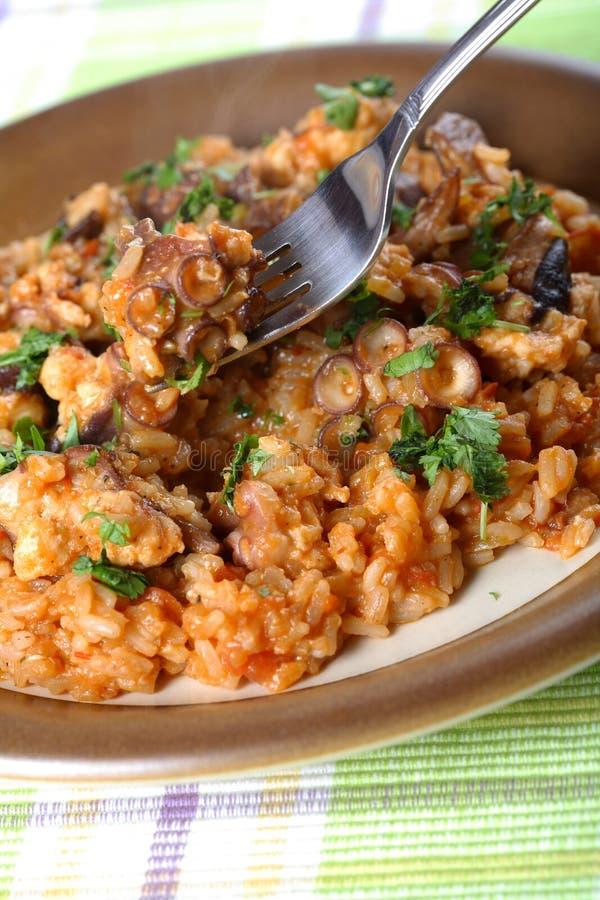 kałamarnica ryżu obrazy stock