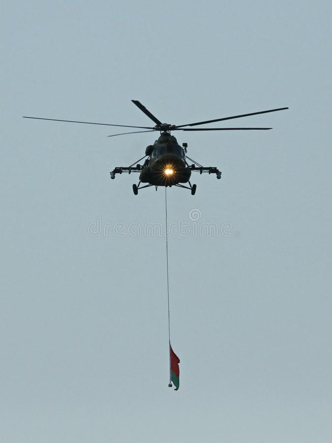 Ka-52 aligator jest pogody śmigłowem szturmowym obrazy stock