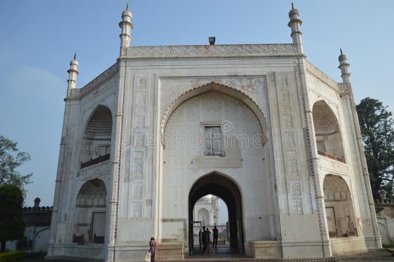 Ka Maqbara Bibi, Aurangabad, махарастра стоковая фотография