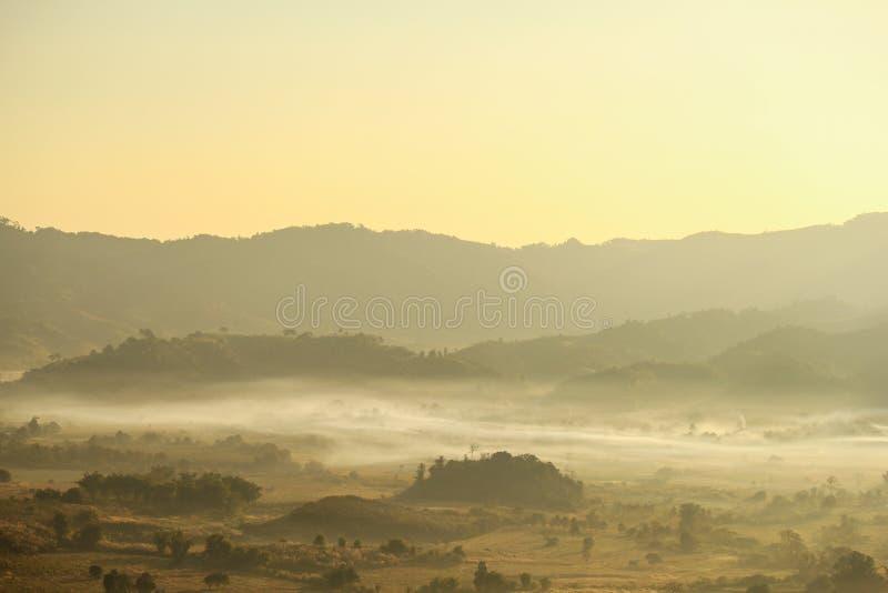 Ka Phayao Таиланд Doi Phu Lang стоковые изображения rf