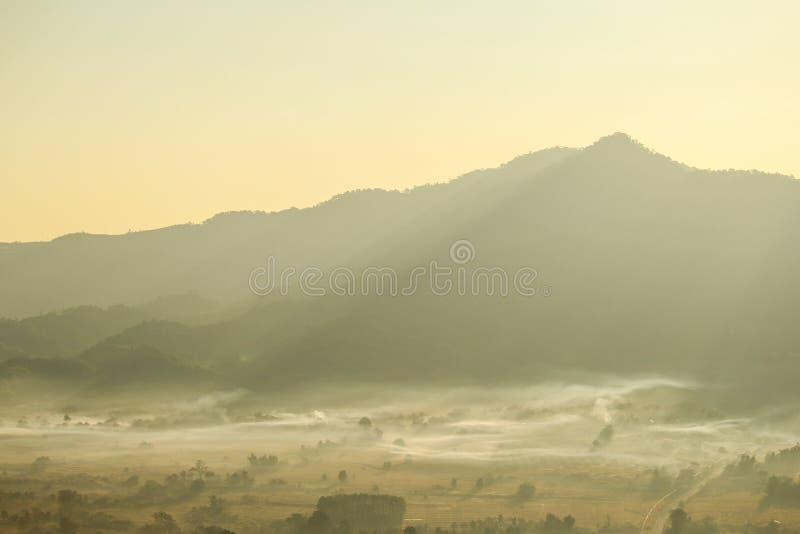 Ka Phayao Таиланд Doi Phu Lang стоковое изображение rf