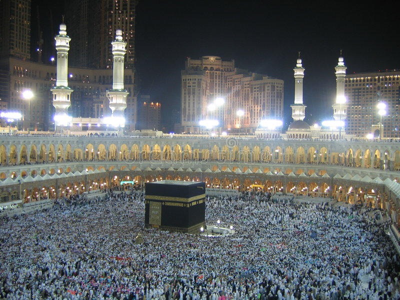 kaaba падуба стоковая фотография rf