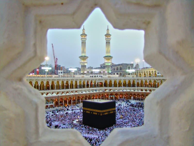 kaaba royaltyfri bild