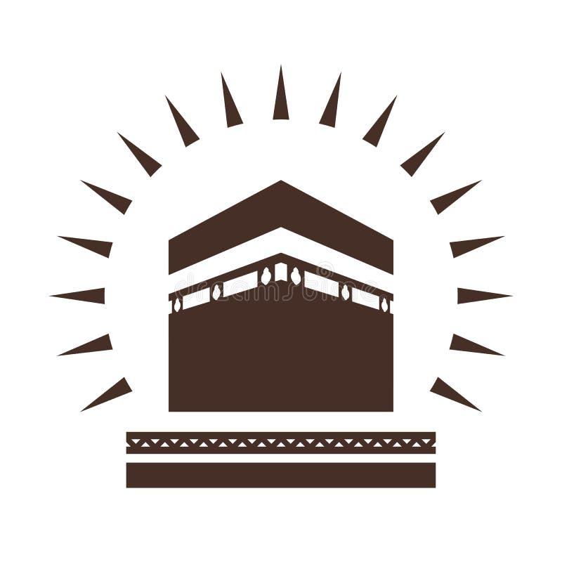 kaaba illustrazione vettoriale