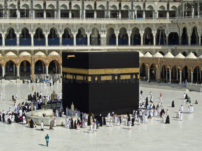 Kaaba en La Meca imagen de archivo libre de regalías