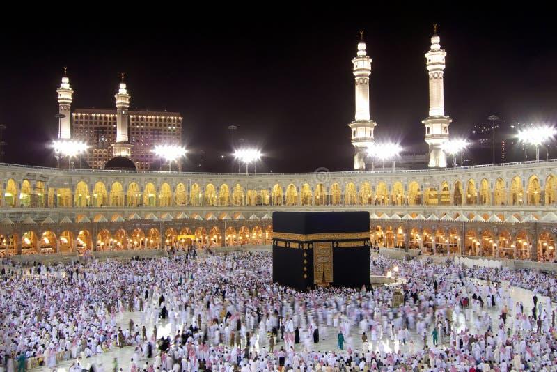 Kaaba im Mekka lizenzfreie stockfotos