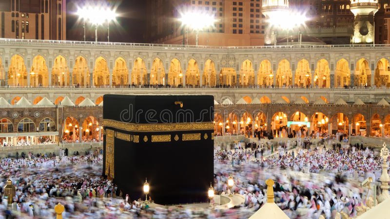 Kaaba im Mekka lizenzfreie stockfotografie