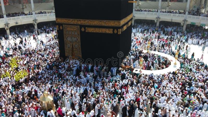 Kaaba im Mekka stockbild