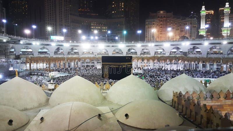 Kaaba w Al-Masdżid Al-Haram zdjęcie royalty free
