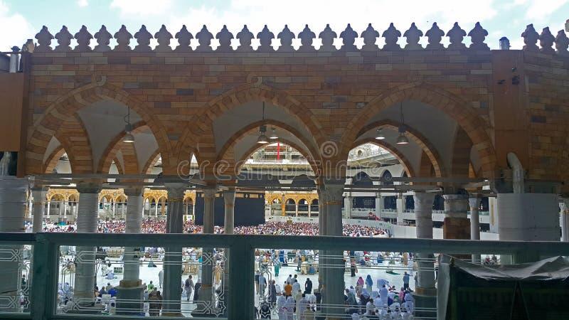 Kaaba w Al-Masdżid Al-Haram obraz royalty free