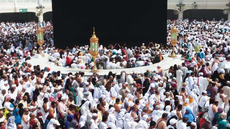 Kaaba w mekce zdjęcia royalty free