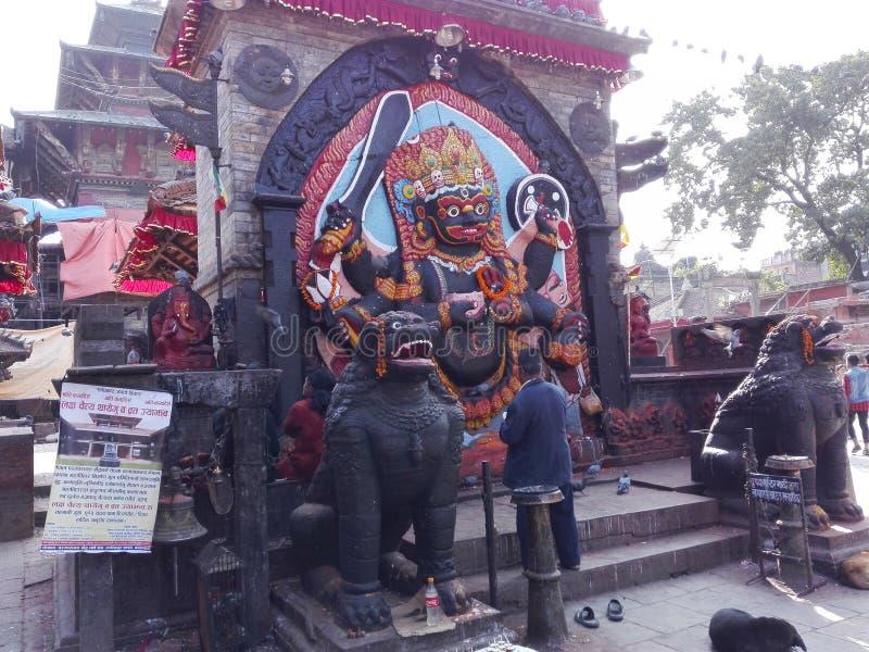 Kaal Bhairav arkivbild