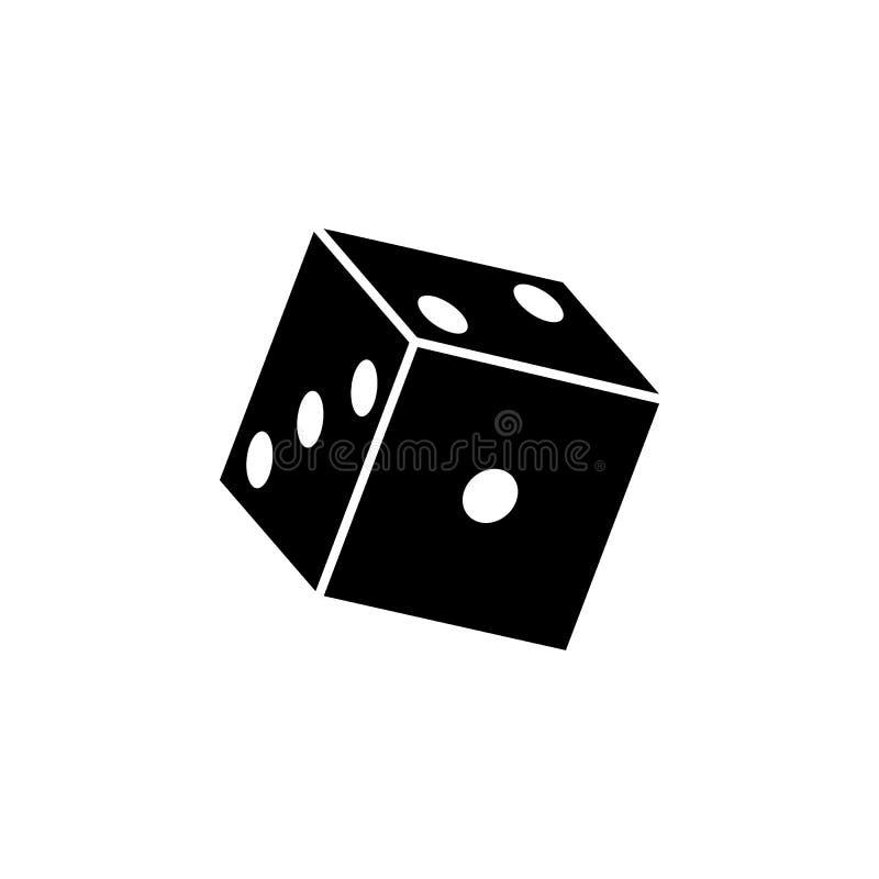 kaal spelpictogram Elementen van het pictogram van raadsspelen Het grafische ontwerp van de premiekwaliteit Tekens en het pictogr royalty-vrije illustratie