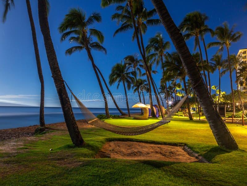 Kaanapali Beach, Maui, Hawaii stock images