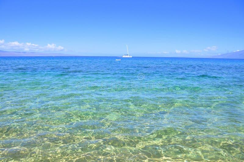 kaanapali Maui της Χαβάης στοκ εικόνες με δικαίωμα ελεύθερης χρήσης