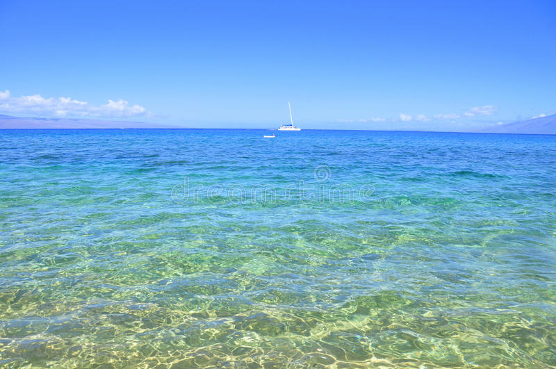 Kaanapali, Maui, Havaí imagens de stock royalty free