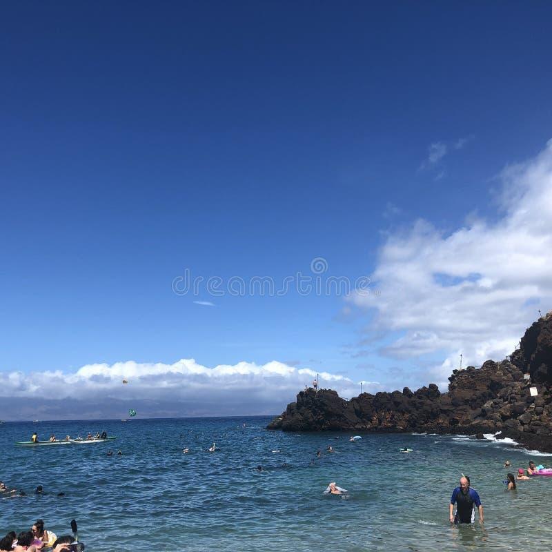 Kaanapali plaża w Maui zdjęcie royalty free